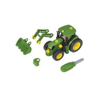 Igrača traktor s čelnim nakladačem John Deere - Notranje igrače