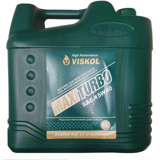 Olje motorno Viskol Maxi turbo 15W-40 10l - Motorna olja