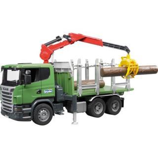Igrača tovornjak Scania transporter lesa - Notranje igrače