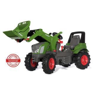 Traktor Fendt 939 gumi kolesa z nakladalcem - Vozila na pedala