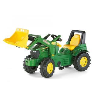 Traktor John Deere 7930 z nakladalcem - Vozila na pedala