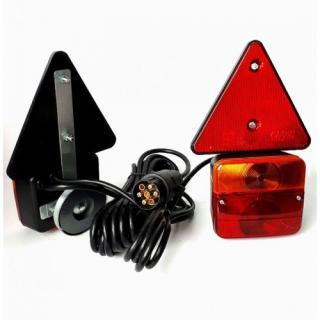 Luč stop komplet magnetna s trikotnikom - Označevalne luči