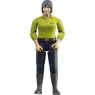 Igrača figura ženske z temno-modrimi hlačami - Figure in tematski dodatki