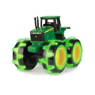 Igrača traktor John Deere s svetlečimi gumami - Notranje igrače