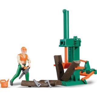 Igrača cepilec drv s figurico - Figure in tematski dodatki