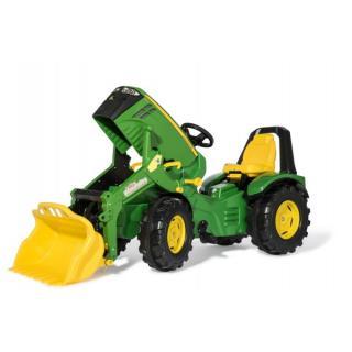 Traktor John Deere 8400 z nakladalcem - Vozila na pedala