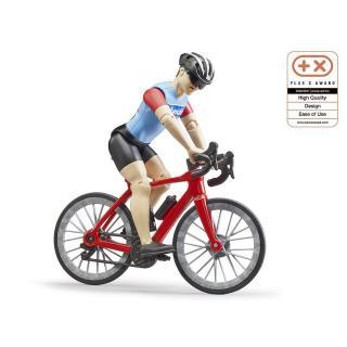 Igrača figura kolesar - Figure in tematski dodatki