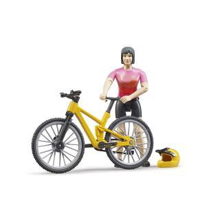 Igrača figura kolesarka - Figure in tematski dodatki
