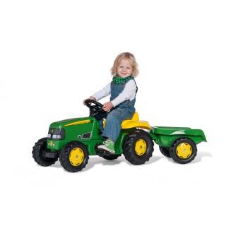 Traktor John Deere RollyKid s prikolico - Vozila na pedala