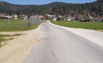 Ureditev ceste OMV – Zajelše (pred rekonstrukcijo)