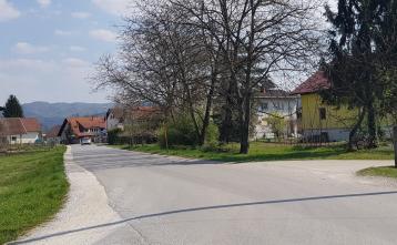 Ureditev ceste Beričevo - Brinje, 1. odsek (pred rekonstrukcijo)