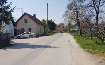 Ureditev ceste Beričevo - Brinje, 3. odsek (pred rekonstrukcijo)