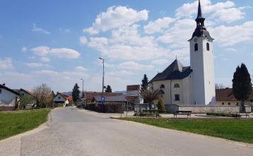 Ureditev ceste Beričevo - Brinje, 2. odsek (pred rekonstrukcijo)