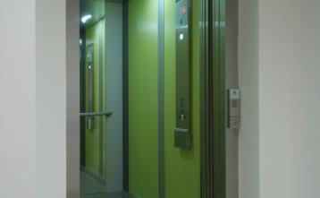 Novo dvigalo v Zdravstveni postaji Gorenja vas
