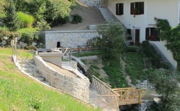 Slika zajetja in črpališča Bohinčev mlin