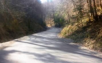 Saniran odsek Bukov vrh