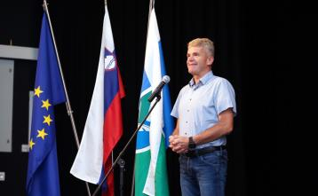 Župan Milan Čadež