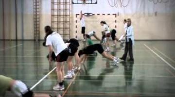 ŽRK Olimpija - trening sklz