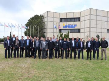 Udeleženci seminarja v Izraelu.