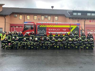 Šmarsko prostovoljno gasilsko društvo, ki ima že 140 let, trenutno beleži preko 200 članov. (Foto: PGD Šmarje pri Jelšah)
