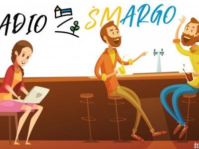 Vsak ponedeljek zjutraj, med 7. in 8. uro, na Štajerskem valu nova rubrika RADIO ŠMARGO -100 % ŠMARSKI ARGO. (Ilustracija: Andraž Pušnik)
