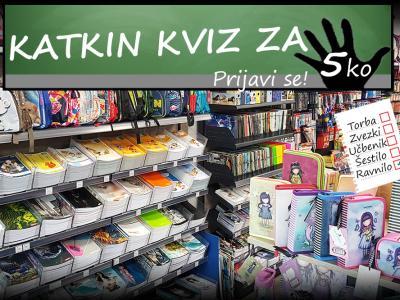 V šolske dni brez skrbi! V sodelovanju s Papirnico Petka smo na Štajerskem valu pripravili kviz, v katerem bomo podelili več šolskih torb in šolskih potrebščin. KATKIN KVIZ ZA PETKO!