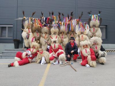 Koranti iz Pobrežja, med katerimi je tudi nekaj Šentjurčanov, so nas obiskali. Bravo, fantje in dekleta!