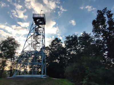 Stolp na Janini je dobil novo podobo. (Foto: Štajerski val)