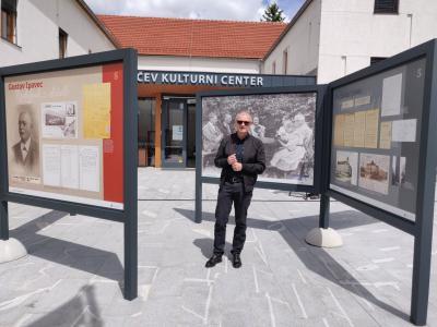 Avtor razstave, ki je trenutno na ogled v Šentjurju, kraju rodbine Ipavec, je dr. Aleksander Žižek. (Foto: Štajerski val)
