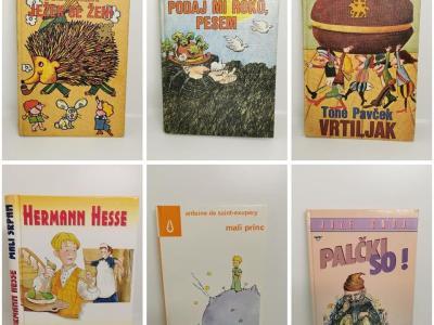 Rabljene knjige nosijo številne zgodbe, pravi Stella Šibanc. (Foto: FB Spletni antikvariat)