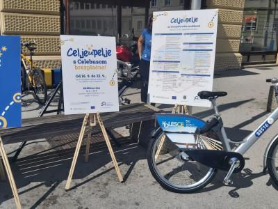 Celje pri aktivnostih Evropskega tedna mobilnosti sodeluje že 20 let. (Foto: Radio Štajerski val)