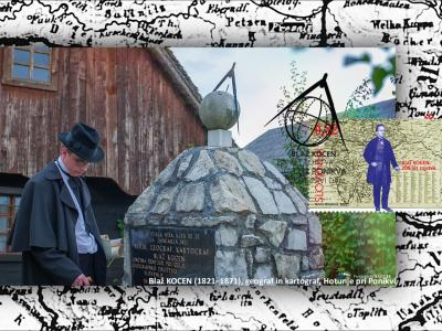 Delo Blaža Kocena je bilo izjemno pomembno, na Hotunju je tudi njegova spominska soba, zdaj se mu bodo poklonili še s poštno znamko. (Foto: Občina Šentjur)