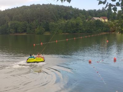 Z wake vlečnico želijo dopolniti športno-adrenalinsko ponudbo ob jezeru. (Foto: Štajerski val)