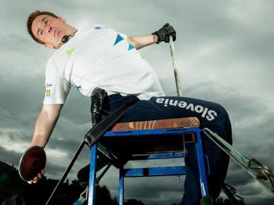 Za Planka so bile to tretje paraolimpijske igre. (Foto: Zveza za šport invalidov Slovenije)