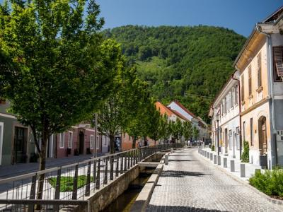 Na Starem trgu v Slovenskih Konjicah so tudi letos Poletnice. Zaradi koronavirusa pa ni glasbenih večerov v Žički kartuziji. (FB Slovenske Konjice)