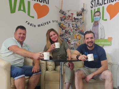 Katja in Davor sta kavo tokrat skuhala rudarju Mateju Slakanu. (Foto: Štajerski val)