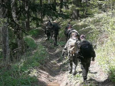 Člani skupine varda izvajajo terenske akcije v različnih delih Slovenije. (Foto: FB Slovenska varda)