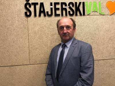 Slavko Vetrih, župan Občine Vitanje, v radijskem srečanju na Štajerskem valu