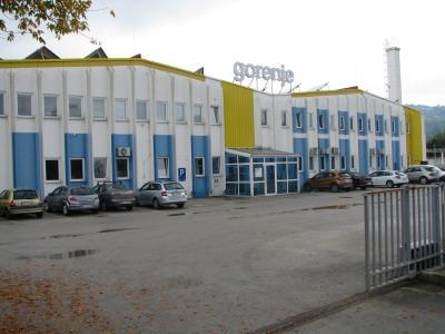 Objekt Gorenja v Bistrici ob Sotli je v stanju »hladne rezerve«, na voljo je tudi za prodajo. (Foto: Gorenje Group)