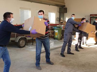 Maske bodo prejeli zavodi, podjetja, gospodinjstva in bližnje občine. (Foto: Občina Rogaška Slatina)