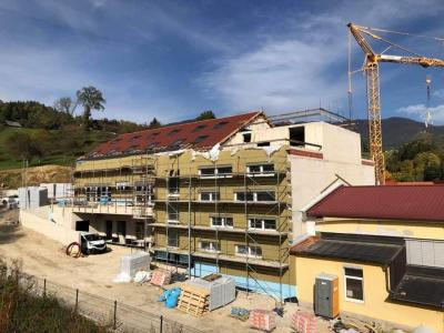 Vrtec gradi celjsko gradbeno podjetje Oder, gradnja pa kljub epidemiji ves čas poteka. (Foto: FB Oder)