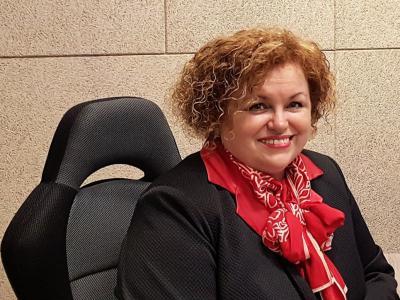 Branka Aralica, direktorica MPI Vrelec, gostiteljica 4. mednarodne konference Izzivi ženskega podjetništva, ki je letos potekala preko spleta.