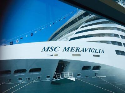 Da član osebja na križarki MSC Meraviglia ni okužen s koronavirosom, so potrdili tudi na slovenskem zunanjem ministrstvu. (Foto: osebni arhiv Branke Kovačič)