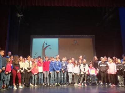 Po številu nagrajencev sodeč je občina Šentjur izredno športna občina. (Foto: Štajerski val)