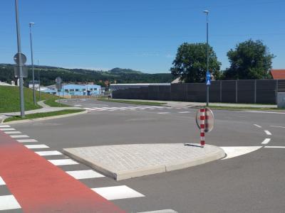 Ko bo obvoznica dokončana, bo razbremenila center Slovenske Bistrice, Impol si z njo obeta boljšo oskrbo z električno energijo. (Foto: Štajerski val)