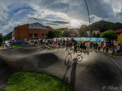 Novost v Laškem, nad katero so zlasti navdušeni najmlajši kolesarji. (Foto: Boris Vrabec)