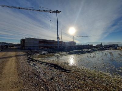 Gre za največji projekt Mestne občine Celje v tej finančni perspektivi, gradita Nivo Eko in Remont. (Foto: MOC)