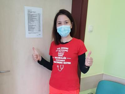 Sanja je že od malih nog vedela, da bo medicinska sestra. Kot pravi, bi ta poklic izbrala še enkrat.