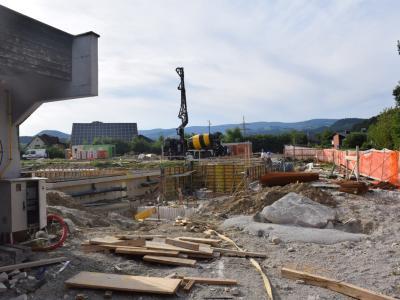 Takole je konjiški bazen izgledal julija lani, letos pa bo znova sprejel kopalce. (Foto: Radio Štajerski val)