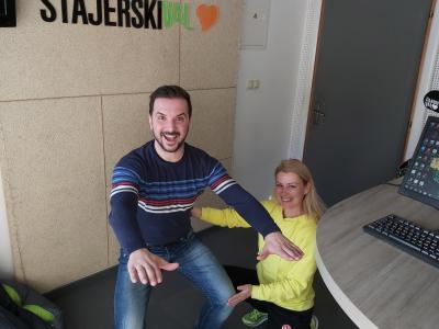 Tudi pravilna drža je pomembna za kakovostno vadbo, pravi Nataša Šuster iz Top fita Celje.